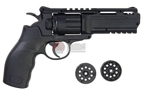 umarex h8r revolver 6mm co2 revolver black by wingun