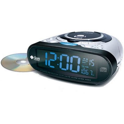 Radiowecker Mit Cd Spieler by Clock Radio Cd Player Name And Logo Imprinted On Clock