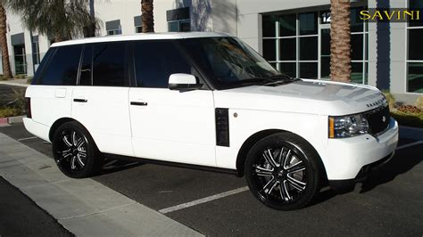 wheels land rover range rover savini wheels