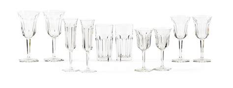 bicchieri di baccarat servizio di bicchieri baccarat francia manifattura