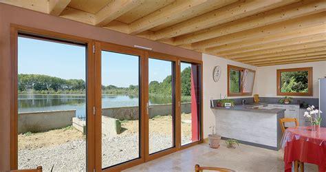 Porte-fenêtre Bois Triple Vitrage à La Française Hf 310