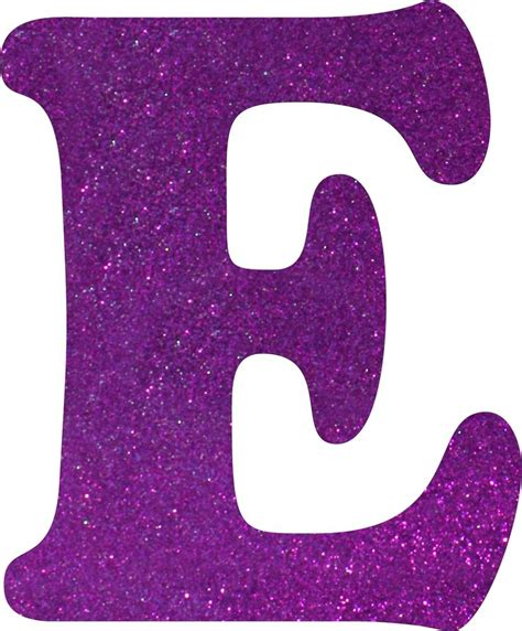 letter e e glitter foam letter e arts crafts walmart canada shopping purple