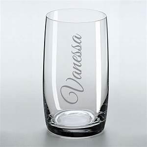 Trinkglas Mit Namen : trinkglas mit namens gravur geschenkplanet ~ Markanthonyermac.com Haus und Dekorationen
