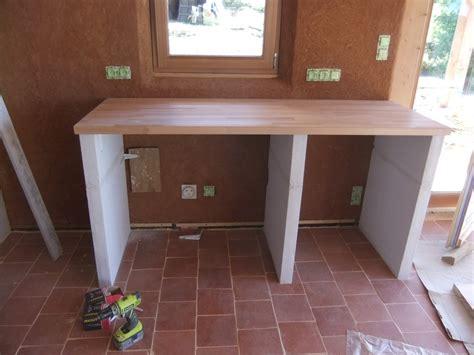 fabriquer un plan de travail cuisine construire sa cuisine en bois 2017 et cuisine fabriquer
