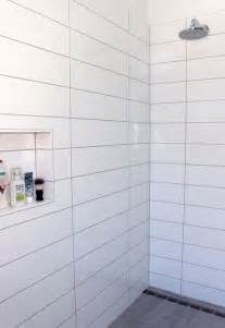 4x16 Subway Tile Patterns by 37 White Rectangular Bathroom Tiles Ideas And Pictures