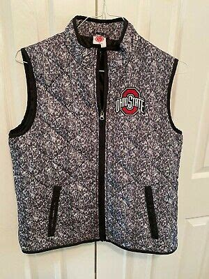 OHIO STATE Buckeyes Puffer Vest - 4th & One Apparel Woman ...