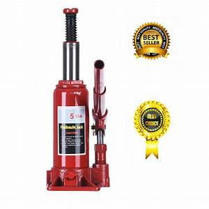 5 Ton Hydraulic Bottle Jack Car Repair Tools Manual Lift