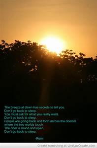 Sunrise Poems Quotes QuotesGram