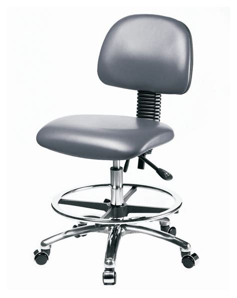 fisherbrand pneumatic laboratory chair with foot rest