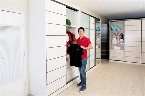 sleek closet systems fit for your home the closet