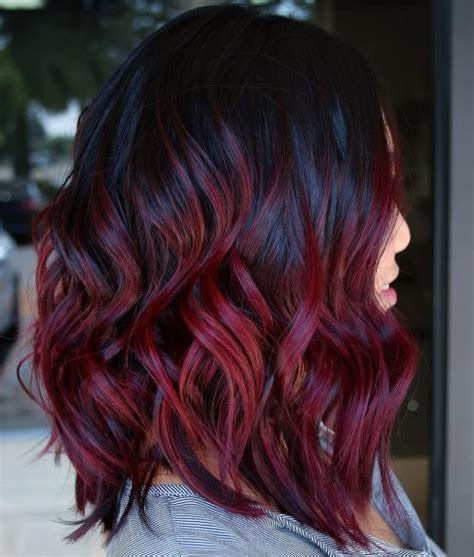 And Burgundy Hairstyles by 50 Shades Of Burgundy Hair Color Maroon Wine
