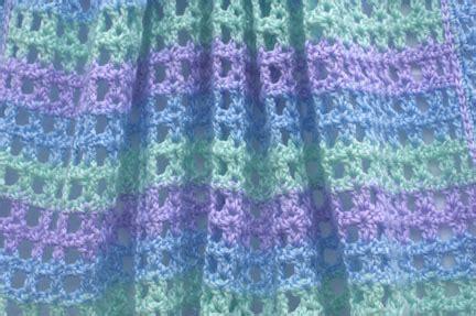 Free Crochet Baby Blanket Afghan Pattern