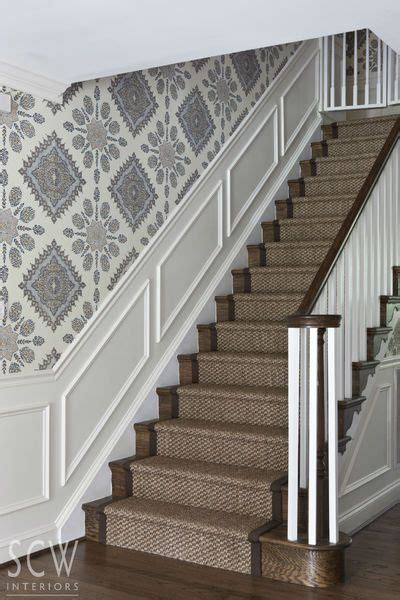 Treppenaufgang Tapezieren Ideen by Best 25 And Stair Runners Ideas On B Q