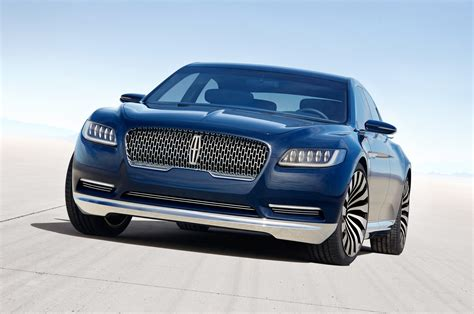 Lincoln Continental Prototype by Lincoln Continental Concept Look Motor Trend
