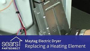 How To Replace A Maytag Electric Dryer Heating Element