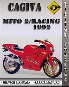 1992 Cagiva Mito 2  U0026 Racing Factory Service Repair Manual