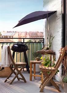 Tonnelle Pour Balcon : petit parasol balcon ~ Premium-room.com Idées de Décoration