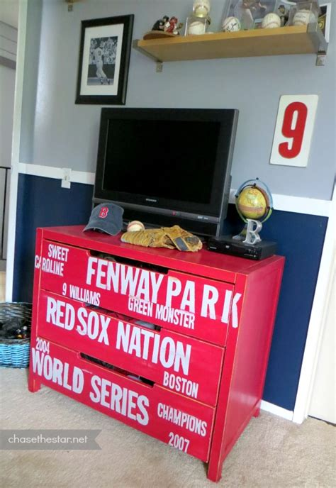 red sox dresser ikea hack
