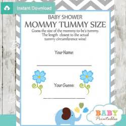 Answers Baby Shower Word Scramble