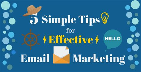 5 Top Tips For Effective Email Marketing