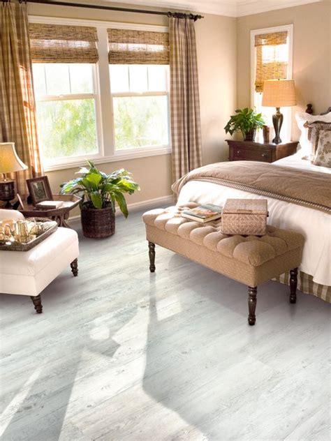 white wood effect vinyl flooring brings  quaint chic