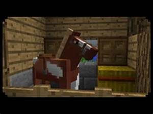 Minecraft: How to make a Horse Stable - YouTube