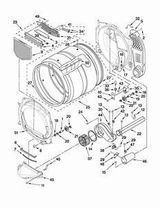 Whirlpool Model Wgd9150ww0 Residential Dryer Genuine Parts