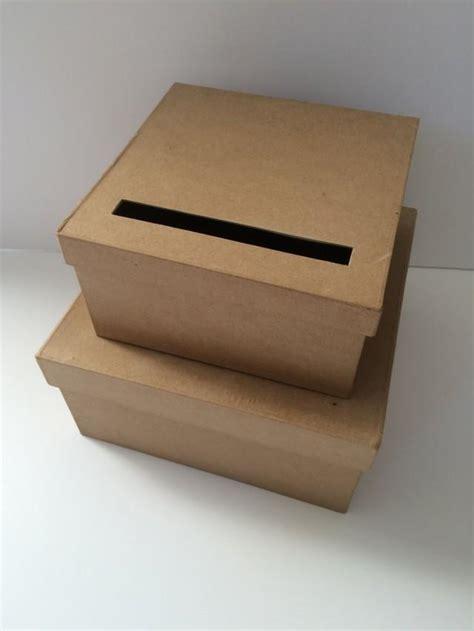 diy wedding card box rustic wedding card holder gift