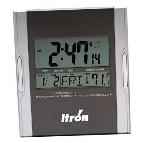 digital atomic desk clock silver plated prestige alarm clock china wholesale silver