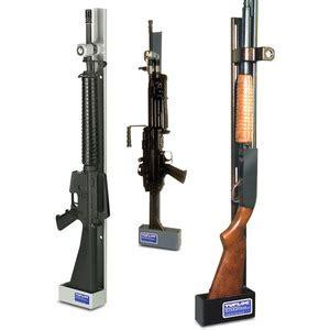 vertical gun rack single weapon vertical gun rack lock by tufloc fleet safety