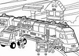 Coloring Train Pages Christmas Template Metro Templates Colouring Lego Pdf sketch template