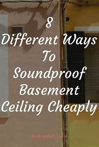 A Detailed Guide On How To Soundproof Basement Ceiling