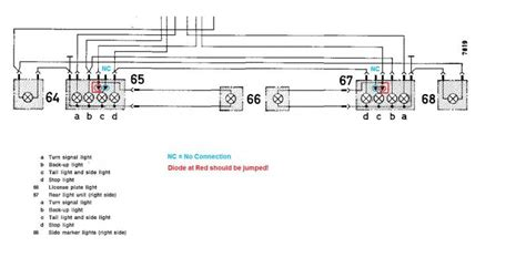 Shop Wiring Diagram For Light by Light Resistors Peachparts Mercedes Shopforum