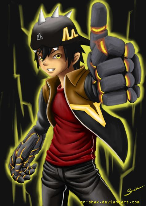 Oh yeh, we actually don't know anything. Boboiboy Gempa by GN-SHAK on DeviantArt