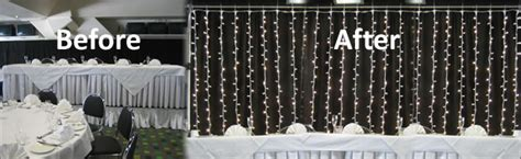 led fairylight curtain backdrop hire party hire