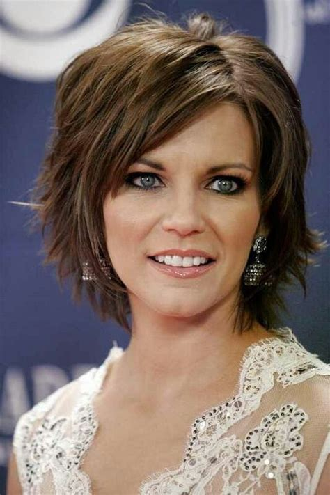 medium  short length haircuts  square faces google