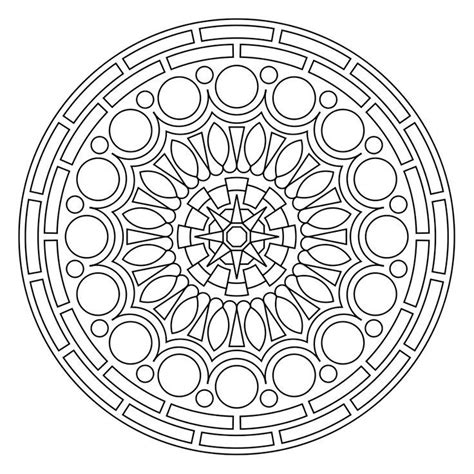 mandala coloring pages  coloring home