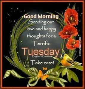 Good Morning Happy Tuesday Thoughts