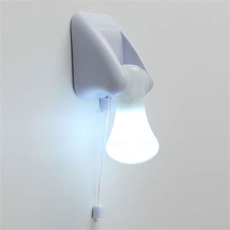 wire led bulb portable cabinet l light battery