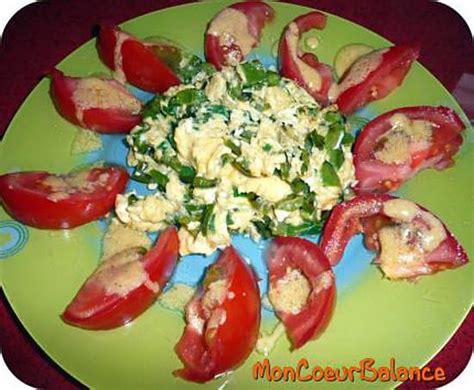 recette de salade domelette aux legumes weight watchers