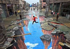 3D Street Art: 14 Eye-Popping Optical Illusions Created In ...