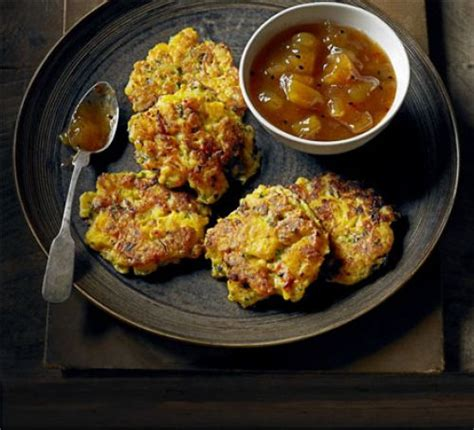 spiced swede fritters recipe bbc good food