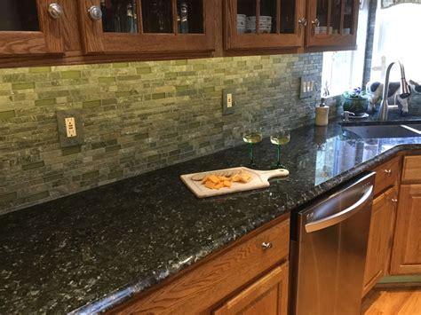 Green Granite Countertops - verde butterfly granite by dynamics martinsville