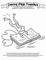 Library Coloring Pages Week National Clipart Template Coloringhome sketch template