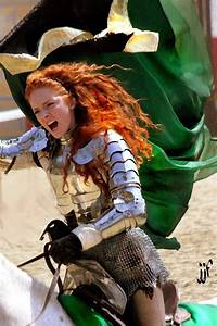 Woman in armor. She almost looks like Merida from Disney's ...