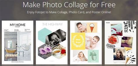 fotojet    photo collage maker tool photo