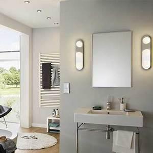 spot salle de bain avec spot miroir salle de bain avec un With carrelage adhesif salle de bain avec spot led pour salle de bain leroy merlin