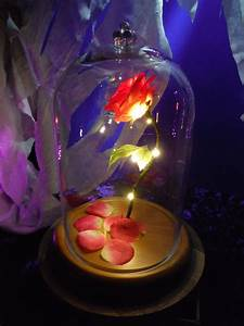 BEAUTY AND THE BEAST ENCHANTED ROSE DISNEY FAIRY TALE ...