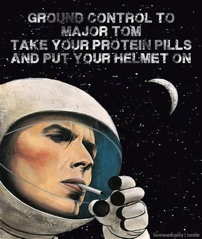 Major Tom Bowie David Space Oddity Ground