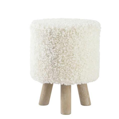chambre de bébé pas cher ikea tabouret pouf imitation et bois blanc alpaga